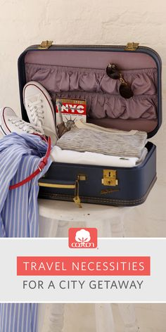 Learn how to bring all of your style in one suitcase (without sacrificing comfort). Packing Tips For Travel, Travel Advice, Travel Guides, Places To Travel, Places To Go, Travel Destinations, One Suitcase, Travel Accessories, Vacation Spots
