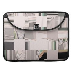 Abstract Art Tiled / Sleeve For MacBook. #fomadesign. Check out this link for free coupon offers! https://www.zazzle.com/coupons?rf=238298069376789985&tc=pin
