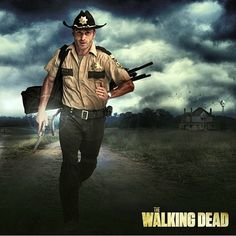 Rick Grimes - The Walking Dead nothing will ever be as fine as this mf'er in that sheriff uniform
