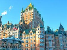 世界遺産 ケベック歴史地区には英仏植民地戦争の歴史が刻まれている。カナダ観光の見所!