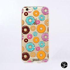 Capinha para celular Donuts