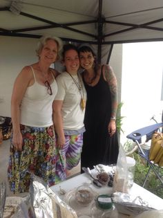 Making new friends at our Herbal Intensive. #chonteau.com, #herbalclasses