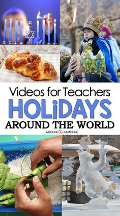 christmas traditions Classroom approved holidays around the world videos for kids. Teach and learn Christmas traditions around the world with this comprehensive list of 14 videos and related books collected by a classroom teacher. Holidays Around The World, Holidays With Kids, School Holidays, Around The Worlds, Christmas Crafts Around The World, December Holidays, Winter Holidays, Christmas Traditions Kids, Christmas Activities