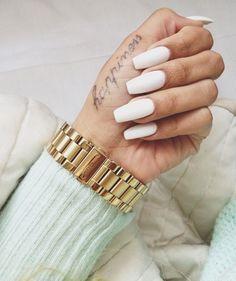 Dont like the nail shape, just like the tatt