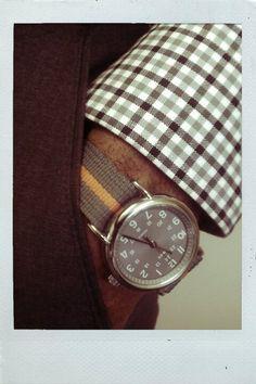 Timex (grey w/ orange)