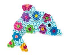 Dolphin - hama beads?