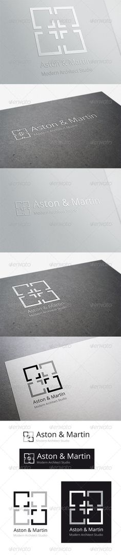 Modern Architect Studio — Vector EPS #elegant #interior design • Available here → https://graphicriver.net/item/modern-architect-studio/6551125?ref=pxcr