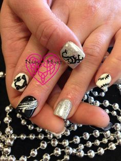 White Sox Nails by Katie Hart Eugene, Or 541-730-2662
