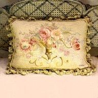 ♥ Aubusson pillows  Uploaded by user