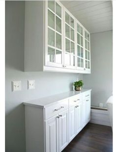 Kitchen Reno: Four Weeks Later! (IHeart Organizing) IHeart Kitchen Reno: Four Weeks Later!IHeart Kitchen Reno: Four Weeks Later! Wall Storage Cabinets, Kitchen Wall Storage, Kitchen Base Cabinets, Dining Room Storage, Kitchen Redo, New Kitchen, Kitchen Ideas, Narrow Kitchen, Dining Room Cabinets