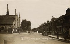 Park Road 1922 - Westcliff on sea, Essex. Local History, History Pics, Local Studies, Leigh On Sea, London Places, Places Of Interest, Victorian Homes, Old Photos, Places Ive Been