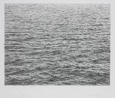 Ocean Surface - Trabalho sobre Fotografia de Vija Celmins - 1983