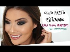 Get Ready With Me | OLHO PRETO ESFUMADO | feat. Mayara Cristina - YouTube