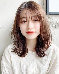 Medium Long Hair, Medium Hair Cuts, Medium Hair Styles, Short Hair Styles, Japanese Short Hair, Japanese Haircut, Gorgeous Hair, Beautiful, Salon Style