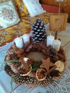 Požehnaný advent:) Autor:johanka_6. Vianoce, advent, adventný veniec, vianočné dekorácie, hand made, diy. Artmama.sk