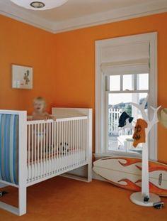 Tangerine nursery