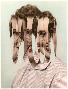 London artist Julie Cockburn hand-alters found portraits with embroidery, cut-outs, or collage. She makes surreal ordinary vintage photographs t. Photography Projects, Artistic Photography, Image Photography, Fantasy Photography, Julie Cockburn, Dada Collage, Art Folder, Photoshop, A Level Art