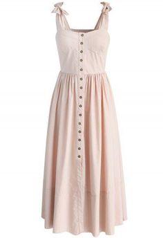 Dashing Darling Cami Dress in Light Pink