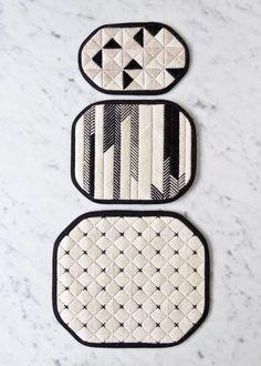 Graphic Needlepoint Trivets   Purl Soho