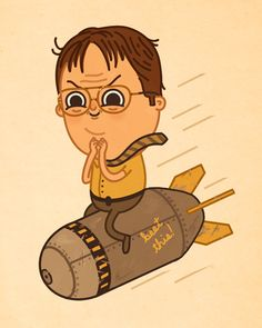 Dwight by Mike Mitchell