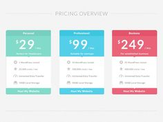 pricing ui - Google 検索