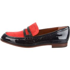 Marc Jacobs Patent Leather Round-Toe Loafers w/ Tags
