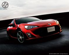 A cool red Toyota 86 from a magazine..  #toyota86