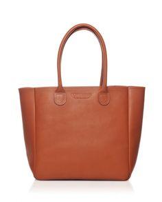 60eeb0df5e25e Petit sac cabas cuir naturel cognac   Small tan leather tote bag - Bonnie  and Bag