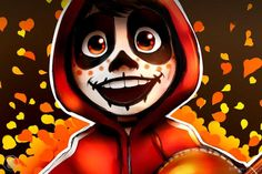 A HUGE congrats to the incredible team behind my favorite movie of Coco, for their 2 academy award nominations! A HUGE congrats to the incredible team behind my favorite movie of Coco, for their 2 academy award nominations! Disney Kunst, Arte Disney, Disney Fan Art, Disney Magic, Disney And Dreamworks, Disney Pixar, Disney Stencils, Hiro Big Hero 6, Zombie Monster