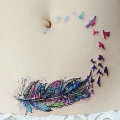 Find images and videos about tattos, tattoos and alaskaa on We Heart It - the app to get lost in what you love. Mini Tattoos, Sexy Tattoos, Body Art Tattoos, Tattoo Drawings, Tatoos, C Section Scar Tattoo, Scars Tattoo Cover Up, Feather Tattoo Meaning, Feather Tattoos