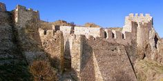 Myrina Castle in Limnos Island