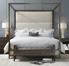 Banks Four-Poster Bed modern