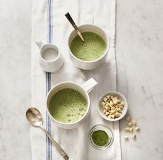 Matcha Hot White Chocolate recipe, filled with sweet and flavorful matcha white chocolate chips and almond milk. vegan