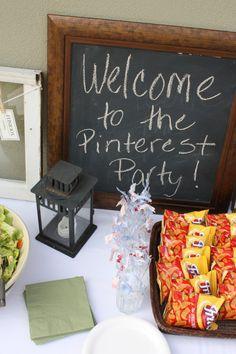 A Pinterest Party!