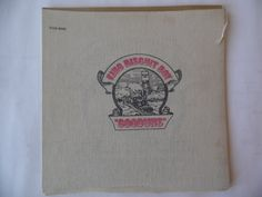 King Biscuit Boy Gooduns vinyl record with burlap bag cover