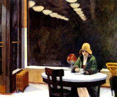Mulher Pensativa Café Cesta Frutas Pintor Hopper Tela Repro ... Descrição do anúncio. Reprodução na tela para pessoas de. Bom Gosto! ... Tamanho imagem : 51 cm X 42 cm , tamanho geral da tela : 60 cm X 48cm