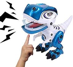 aab8a0d90bdce REMOKING Toy Robots Dinosaur for Boys or Girls –Mini Dinosaur Robots for  Kids, Posable