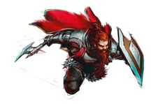 Male Dwarf Axe and Shield Fighter - Pathfinder PFRPG DND D&D 3.5 5th ed d20 fantasy