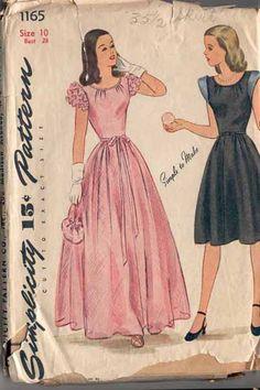 1940's dress! LOVE!
