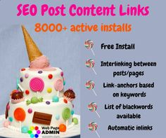 #SEO_Post_Content_Links has lined up with 8000 active installs! This #wp_plugin is extremely effective for the 'white hat' #SEO_promotion. More info you'll find in the description video ---> wordpress.org/... #content_links #SEO_links #SEO_linking #wp_links #WordPress_links #links_for_website #website_links #inlinks #inlinks_plugin #SEO_content #linkbuilding #link_building