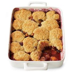 Plum Cobbler | To vary the filling here, use 4 pounds of stone fruit (peaches, nectarines and apricots) cut into large wedges; or 4 pounds of berries (strawberries, raspberries, blackberries); or 6 pints of blueberries plus 2 tablespoons of fresh lemon juice.