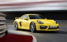 Porsche Cayman GT4 Amarillo Frente  fx