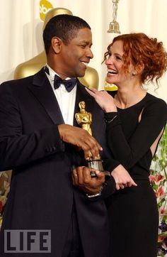 Denzel Washington and Julia Roberts