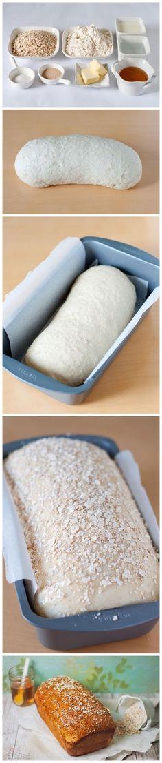 Normal Recipe: Homemade Honey Oat Bread