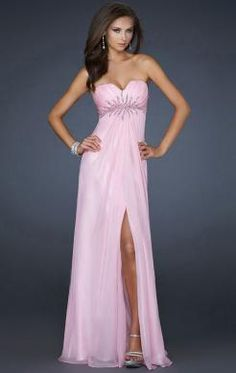 Online Long Pink Tailor Made Evening Prom Dress (LFNAF0009) http://www.marieprom.co.uk/