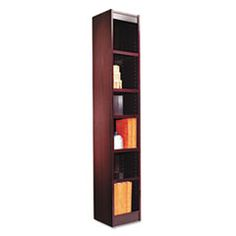 Narrow Profile Bookcase- make from barn wood or pallet wood