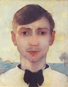 Selfportrait, Jan Mankes (1889-1920)