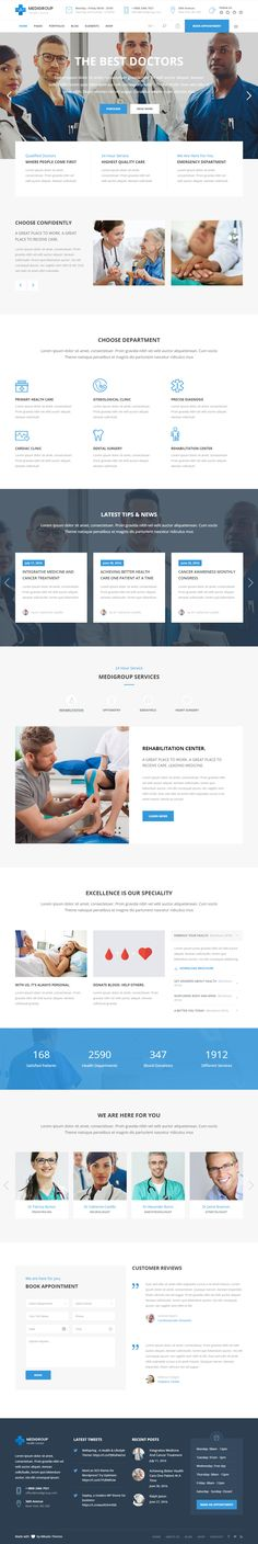 Medigroup is Premium full Responsive Retina #WordPress Theme. If you like this #Parallax Theme visit our handpicked list of best #Healthcare and #Medical Themes at: http://www.responsivemiracle.com/best-healthcare-and-medical-wordpress-themes/