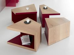 Low square coffee table ETNA by La Maison Turrini design Erwan Peron