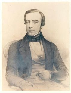 George Smith (courtesy of Bronte Parsonage Museum), of Smith, Elder & Co. The Bronte sisters' first publishers. Charlotte Brontë's London, And Why She Wasn't A Fan | Londonist